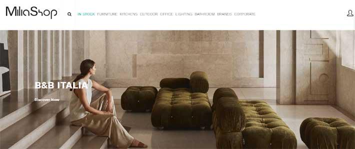Milia Shop italian furniture online