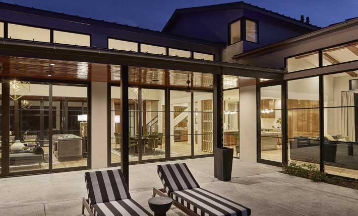 Maestri Studio home design top interior designers and architects dallas texas- Exterior view to interior design