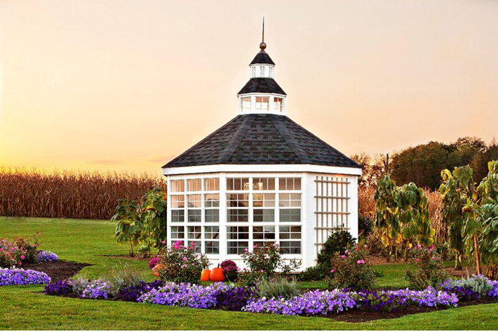 Wayfair Colonial luxury greenhouse garden room shed
