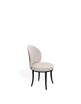 merveille dining desk chair koket feathers