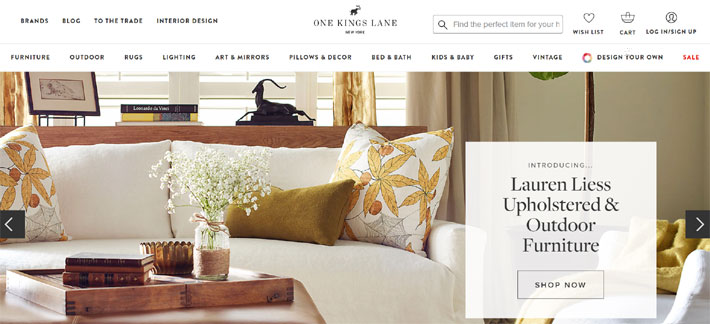 one kings lane best online furniture stores for luxury home decor
