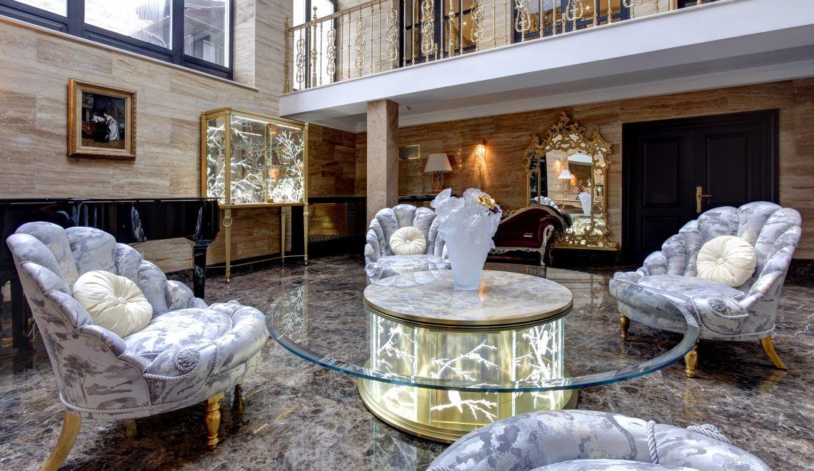Svetlana Khristoforova KRAFT Living Room luxury country house design inspiration