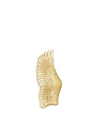 pluma gold leaf angel wing sconces koket