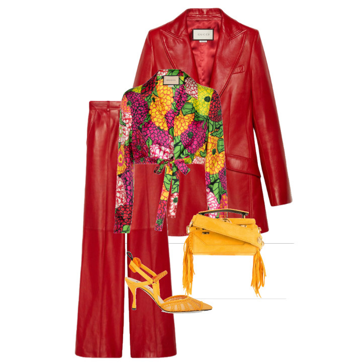 bold colors fashion outfits red outfit ideas designer clothing