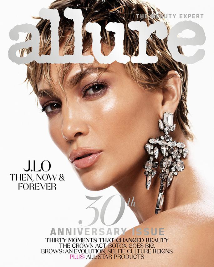 Allure 30th Anniversay Issue J. Lo