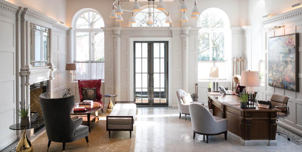 most beautiful hotels Belmond Cadogan Hotel, London lobby