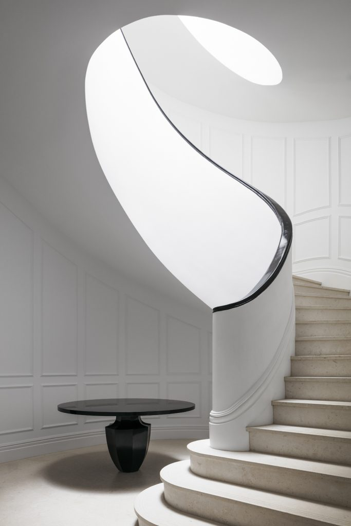 staircase Interior by Blainey North