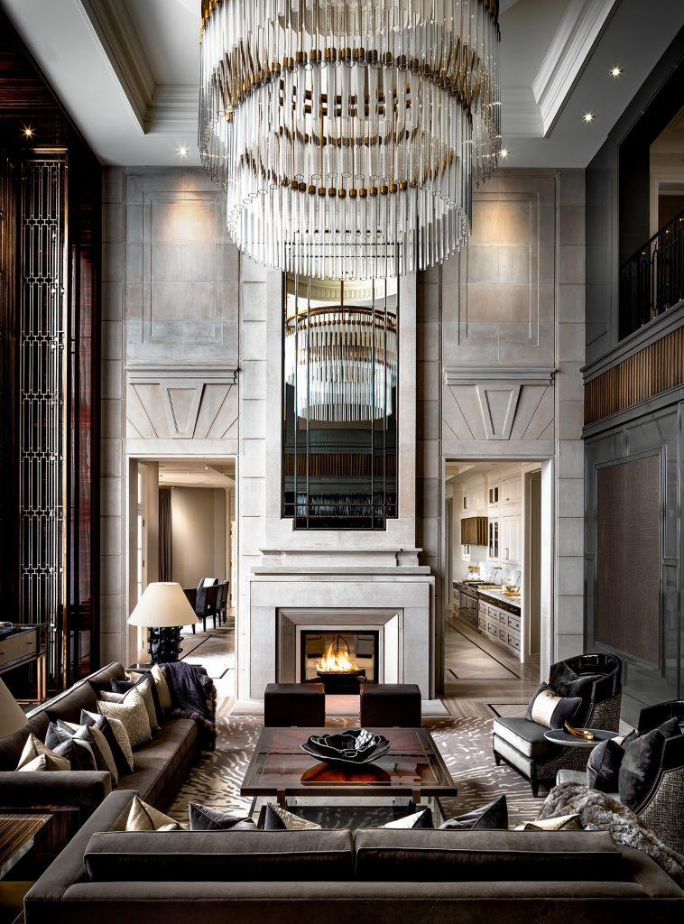 Photo by Brandon Barré of an interior by top Toronto interior designer Ferris Rafauli