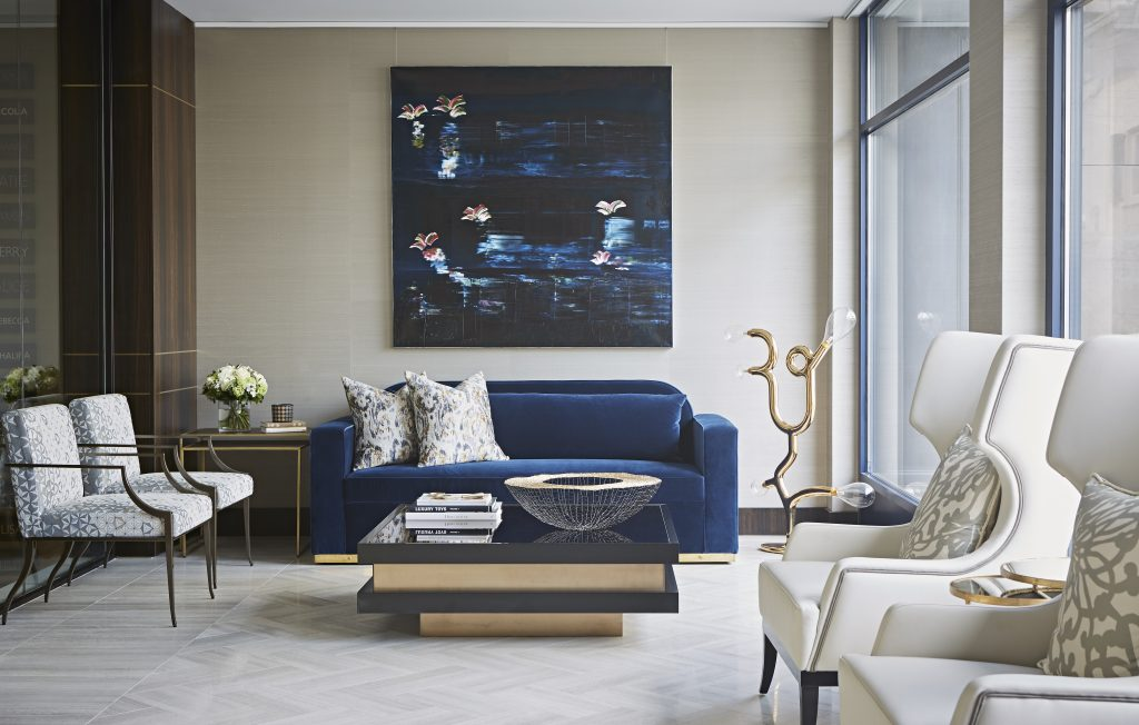 living room with love seat by Taylor Howes