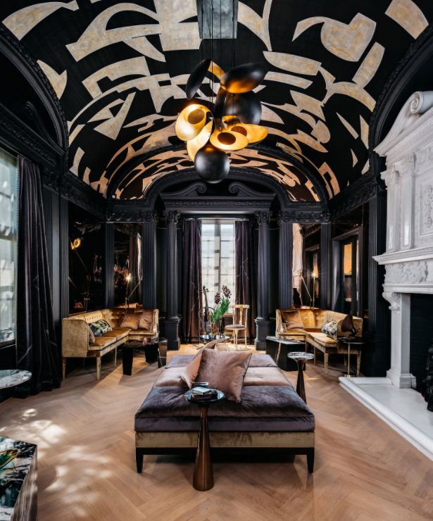 Photo by Christopher Stark of a room designed by Martin Kobus at the 2019 San Francisco Decorator's Showcase House