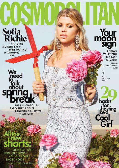magazines for women Cosmopolitan Magazine cover april 2021
