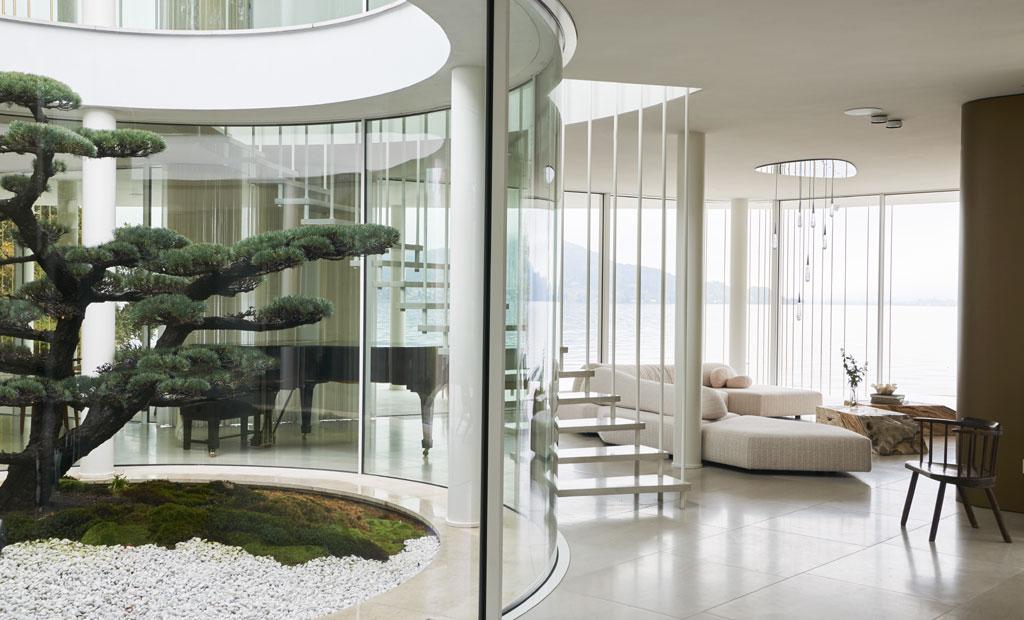 lake como villa design Design Haus Liberty Dara Huang Villa Mosca Bianca - Photo Adrien Dirand