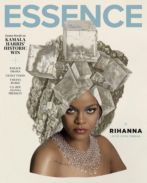 magazines for women about Essence magazine rihanna cover 2021