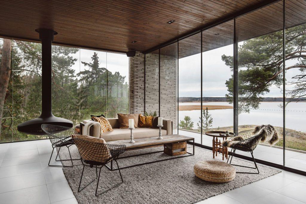 luxury living room, Interior by Joarc Architects, Photo by kroniki studio