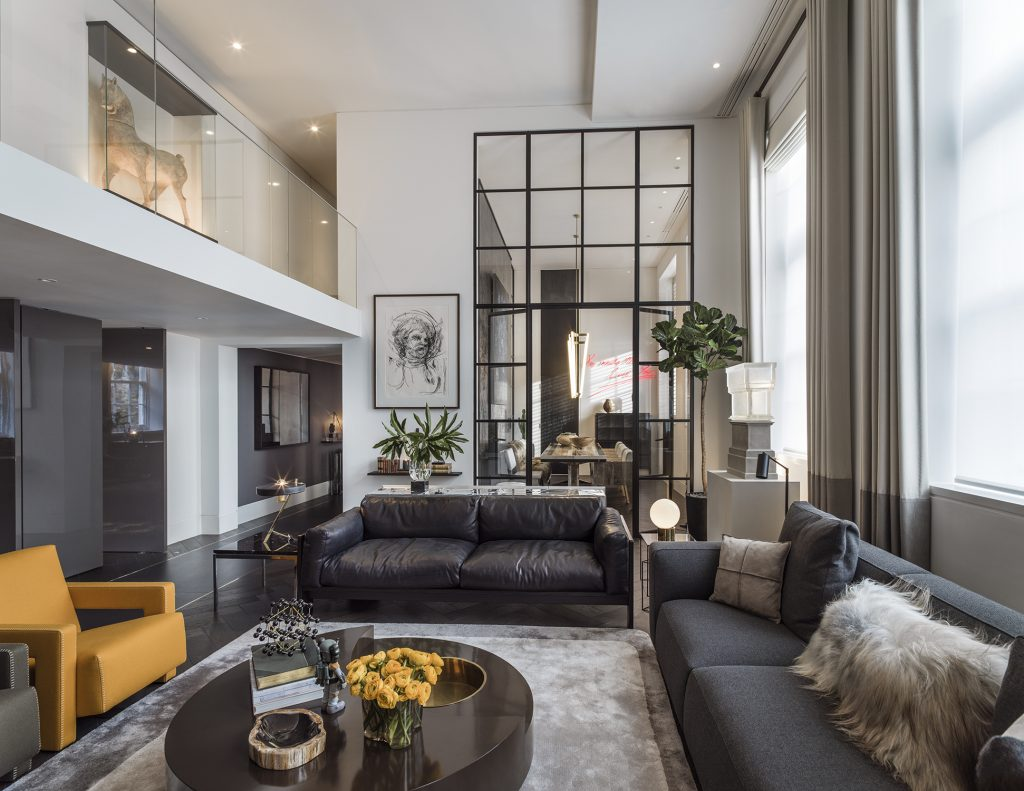 Interior by Kelly Hoppen luxury modern living room