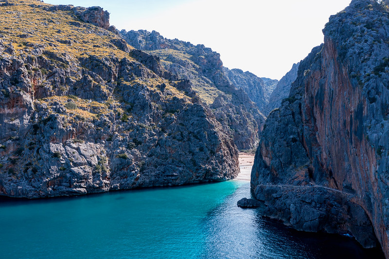 secret european beaches post-covid travel ideas Torrent de Pareis, Mallorca, Spain (Photo by Dirk Vorderstrasse)