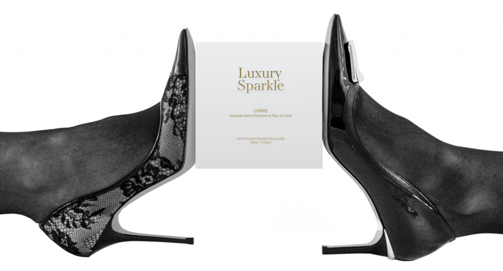 Luxury Sparkle Candles Shoes