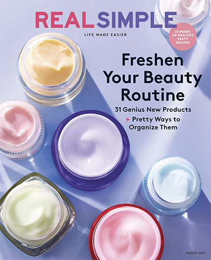 magazines for women real simple magazine cover march 2021
