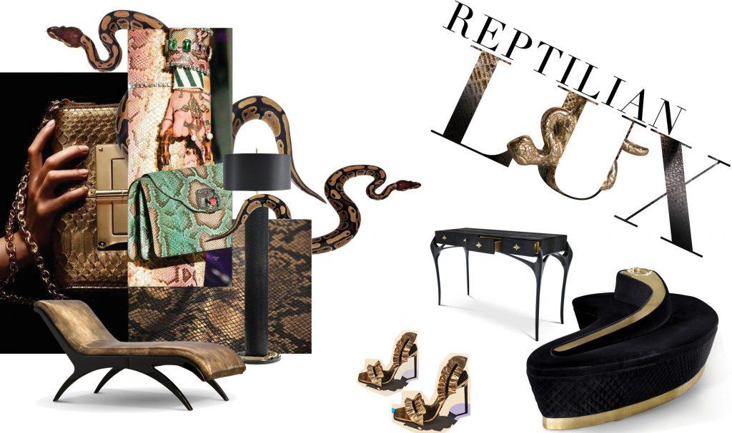 reptilian luxury furniture koket
