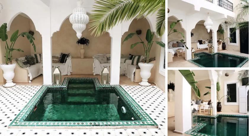 unique travel destinations Riad Shiraz Private House Airbnb)