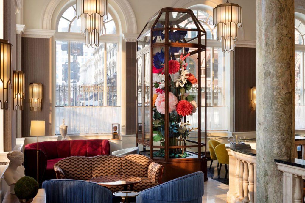Riggs Washington DC lobby restaurant