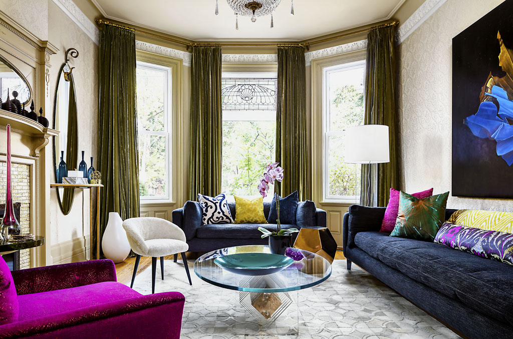 luxury living room by toronto interior design group yanic simard