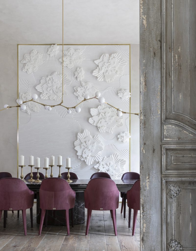 Interior by Nina Magon contour dining room