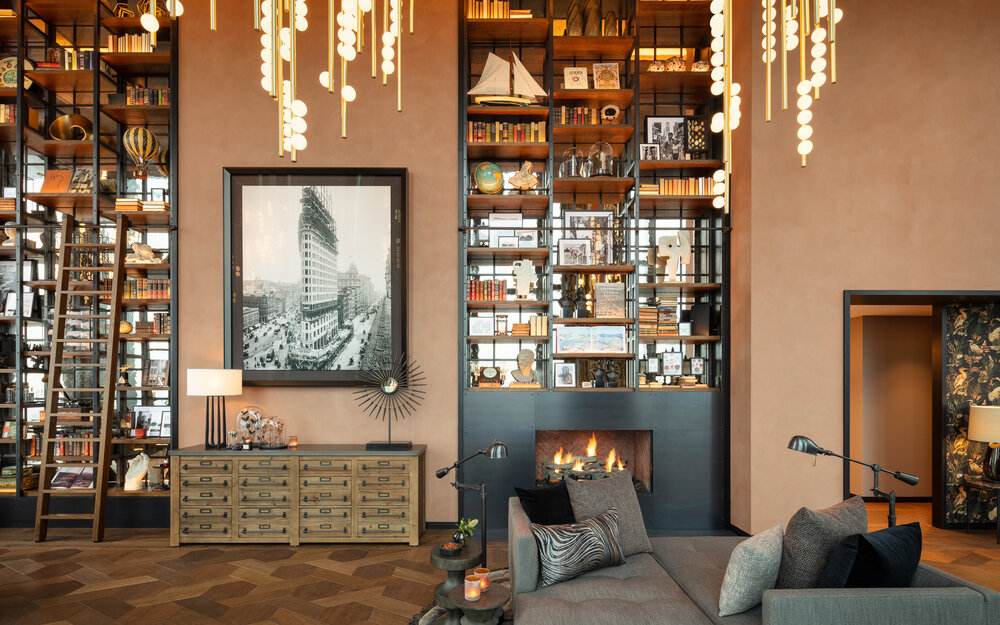 best interior photographers brooklyn Photo by Will Ellis of a Manhattan Penthouse designed by Andrin Schweizer