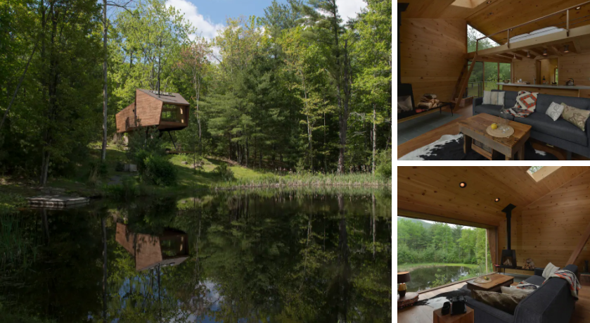 Willow Treehouse (Photos from Airbnb)