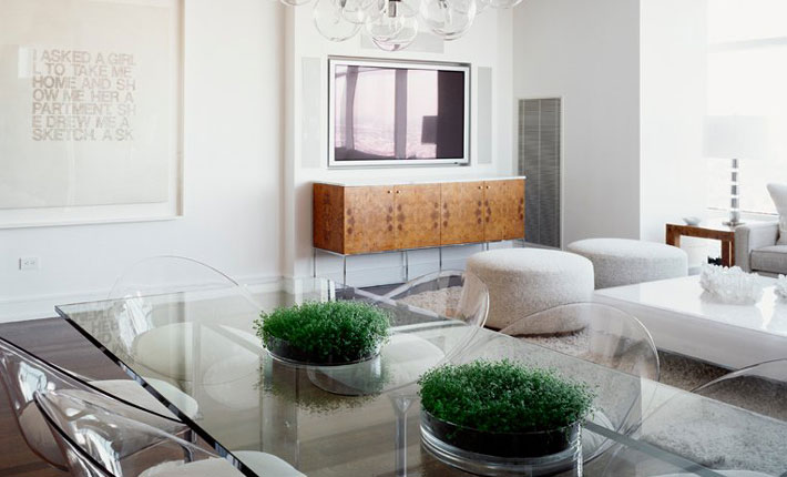 luxury white living room dining room cara woodhouse interiors