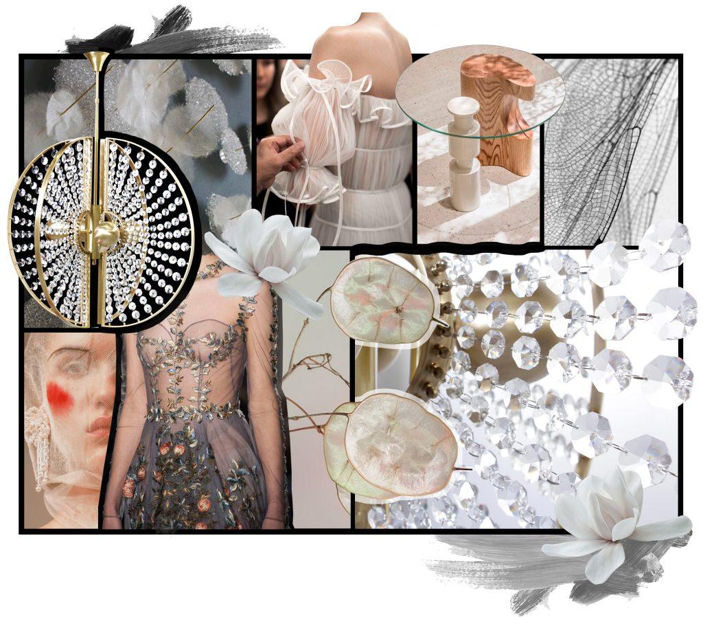 crystal feminine vibes lighting KOKET