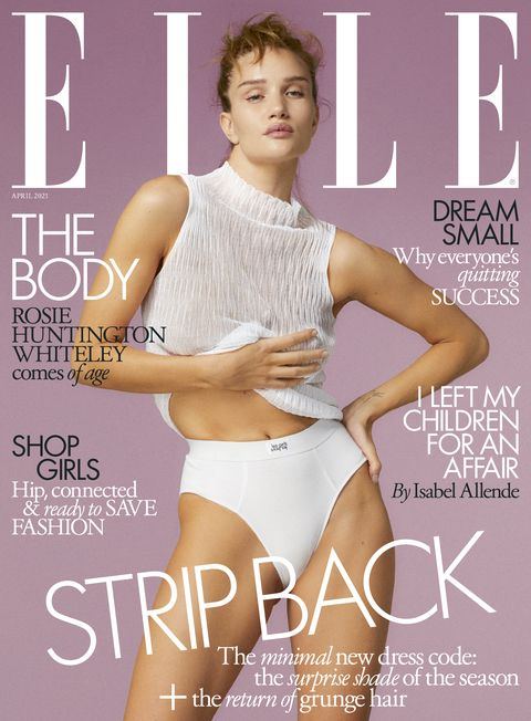 magazines for women elle magazine cover april 2021
