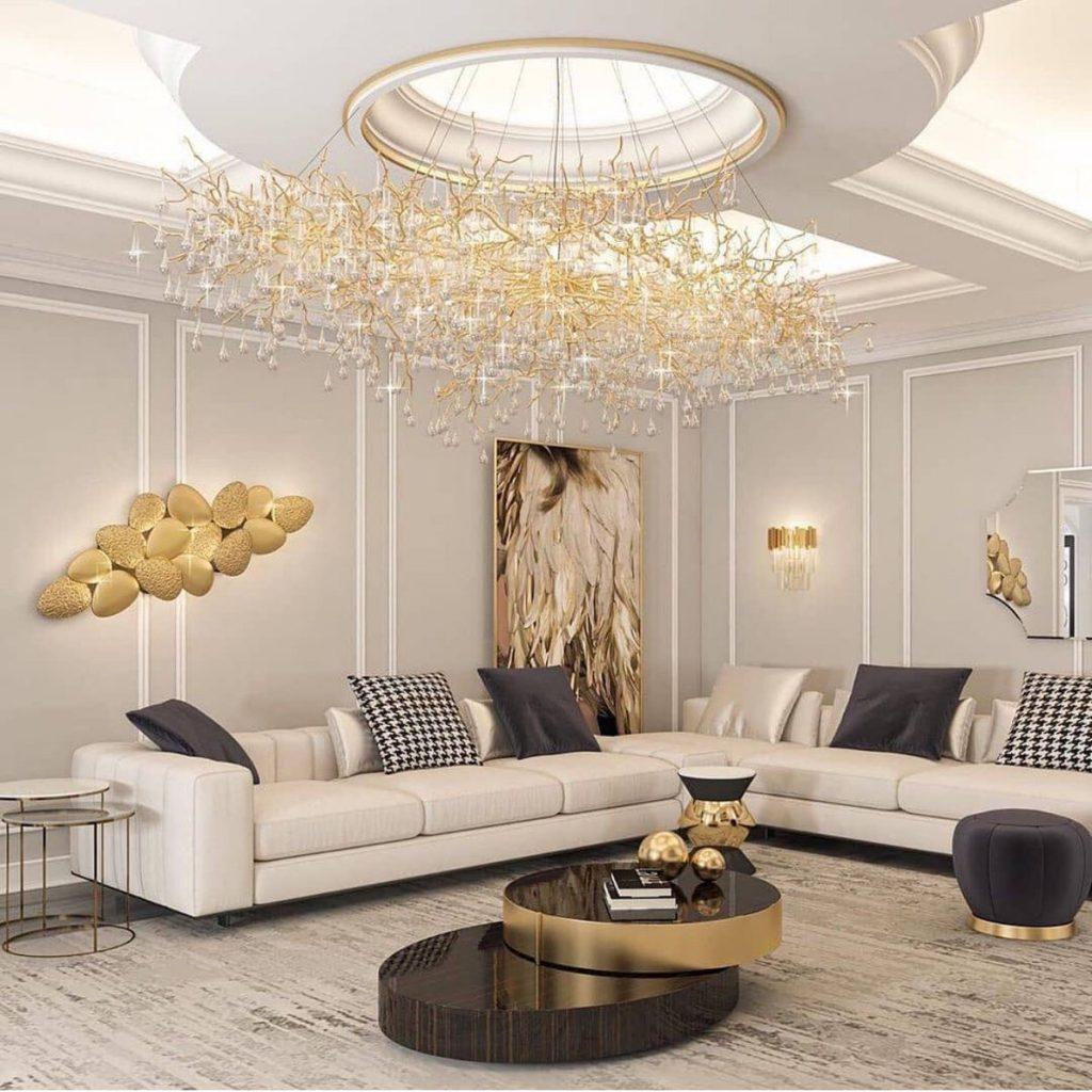 Luxury interior design by Unknown