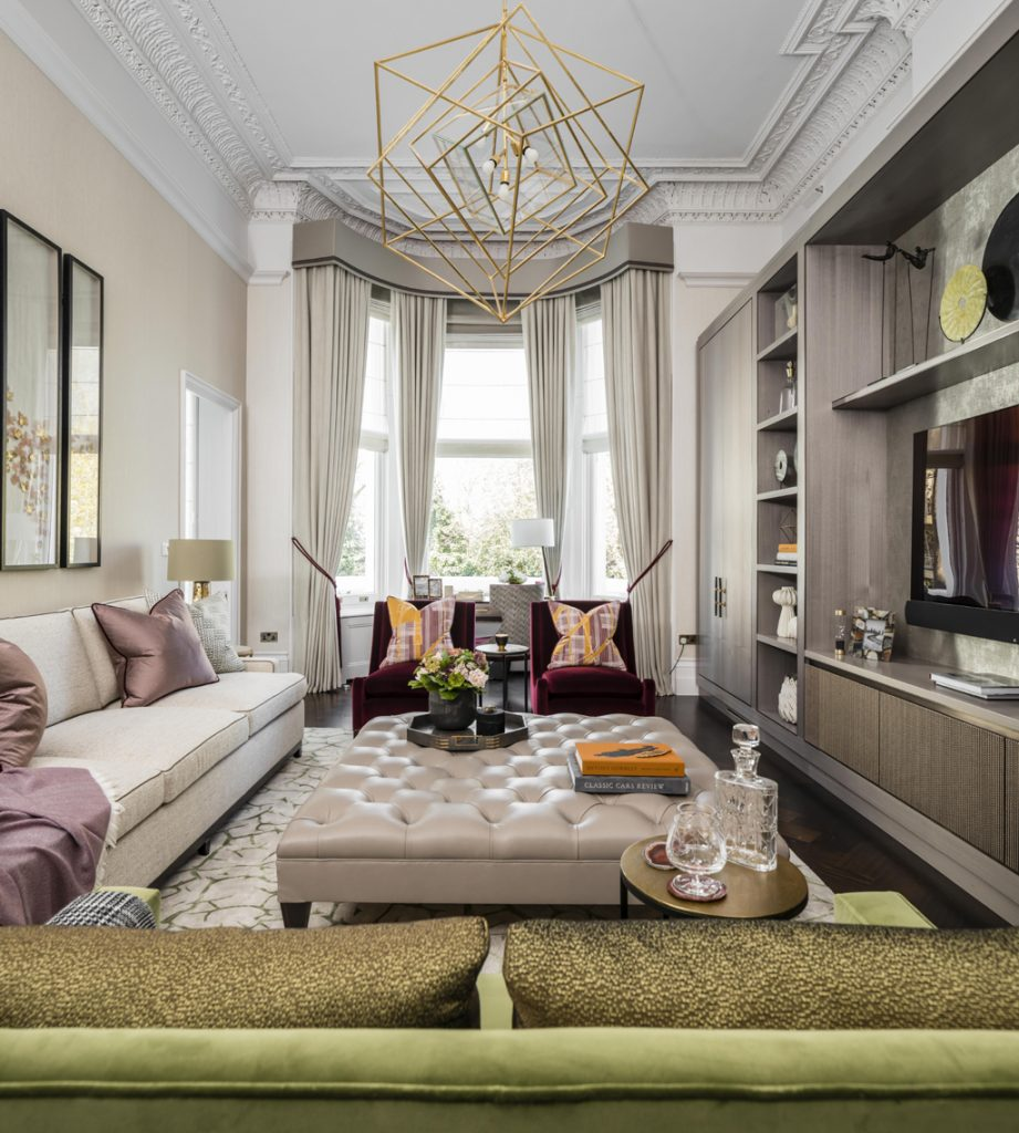 luxury living room design by taylor howes interior design london