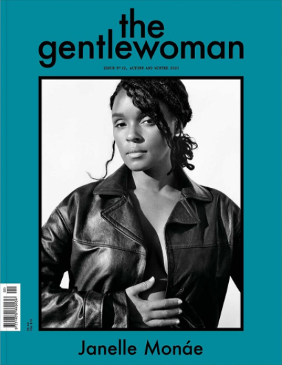 janelle monae cover the gentlewoman autumn winter 2020 no. 22