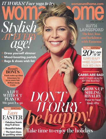 woman and home magazine april 2021 cover