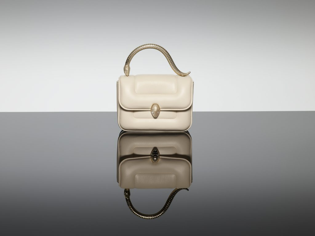 Bvlgari Serpenti Metamorphosis Handle bag designed by Mary Katrantzou
