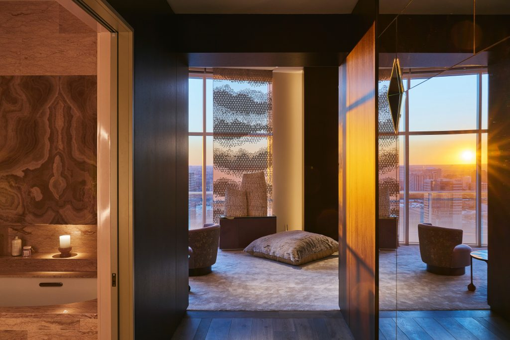 212box luxury master bedroom entry