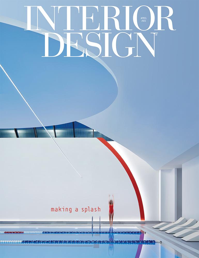 Interior Design Magazine April cover 2021