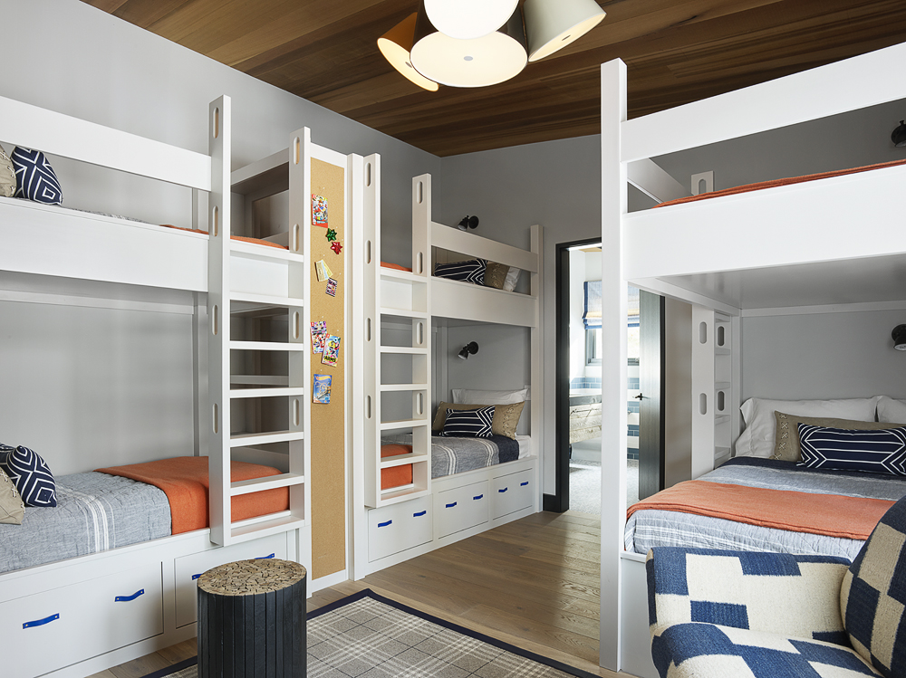 jay jeffers bunk room kids summer house vacation homes