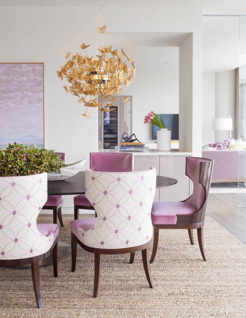 Summer Interior Design Ideas Brighten Your Home Laura Lee Clark Dining Room KOKET Nymph
