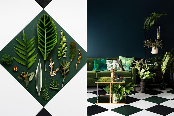 greenery roaring 2020s interior design trends Photos by Martina Gemmola