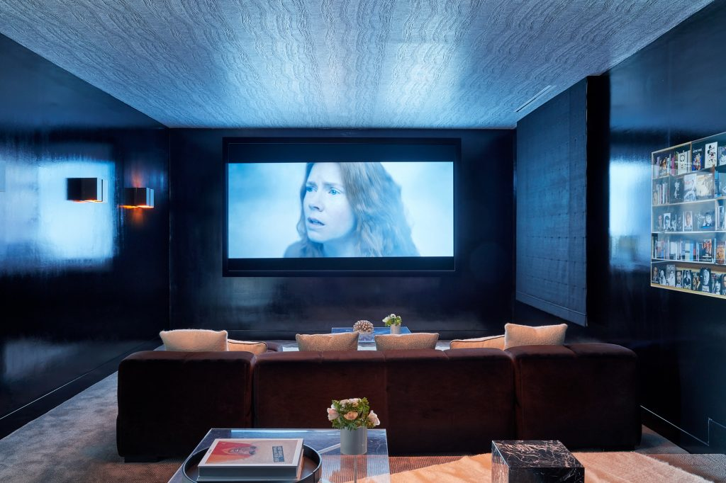 sara story bel air vacation home theater room