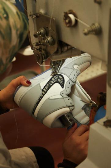 athleisure collaborations luxury brands Dior x air jordan