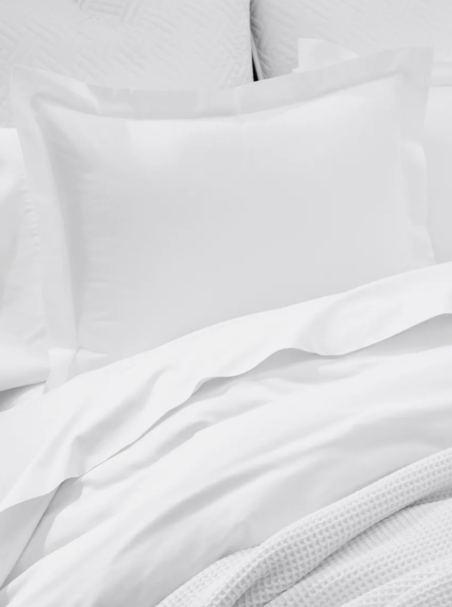Classic White Organic Bedding by Boll & Branch