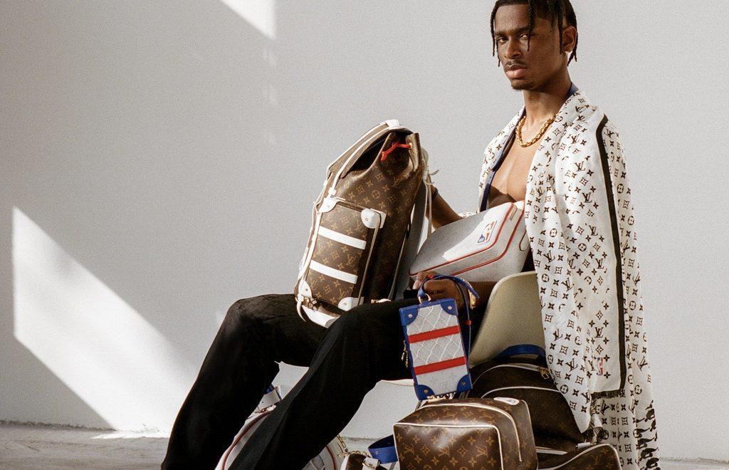 athleisure collaborations luxury brands Louis Vuitton x NBA