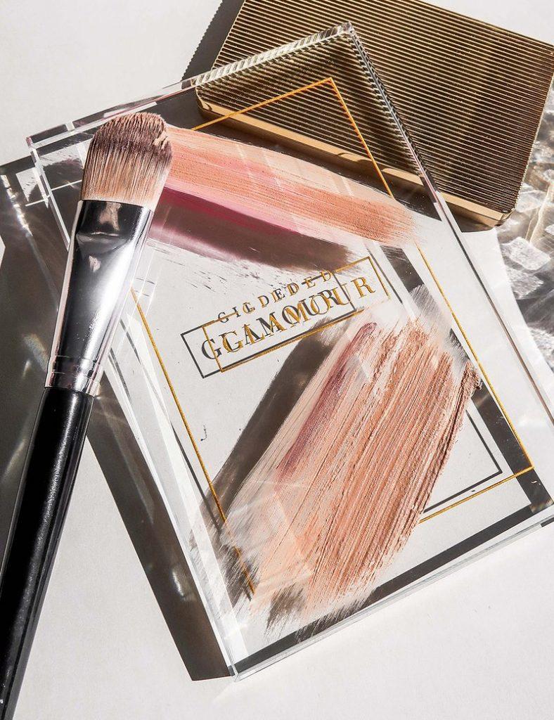 gilded makeup