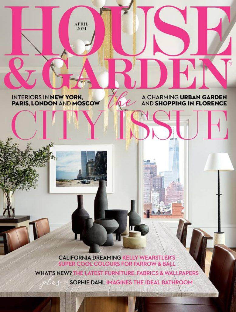 house & garden april 2021 cover