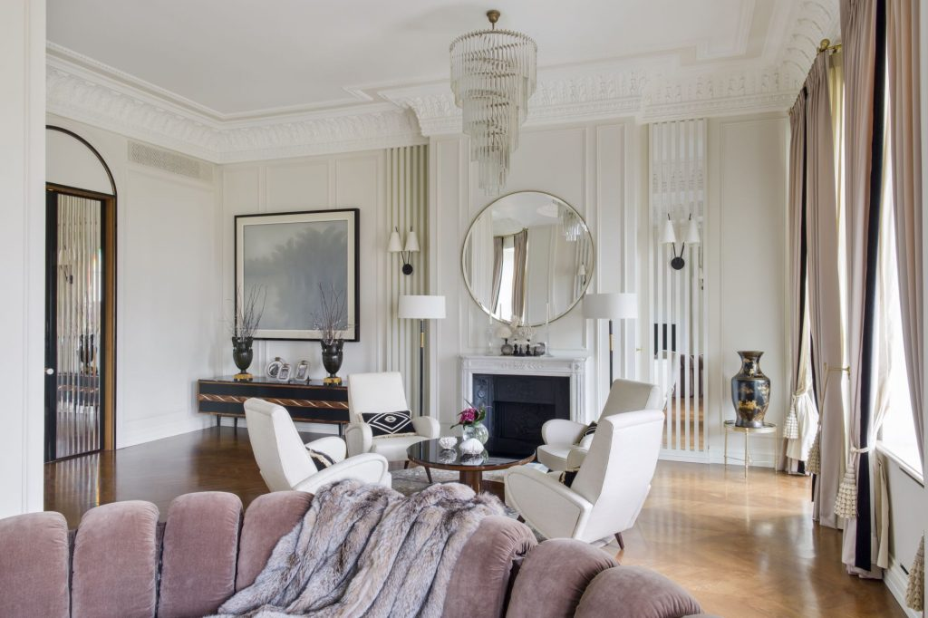 roaring 2020s Interior by Leyla Uluhanli Interiors moscow apartment