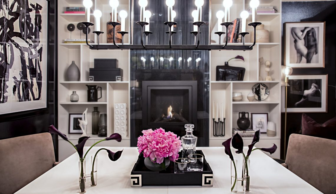 Design on a Dime benefit Vignette by Claudia Giselle Design LLC hearth cabinet